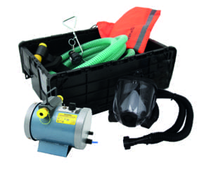 Nevis Powered Fresh Air Breathing Apparatus (FABA) System (High Res)